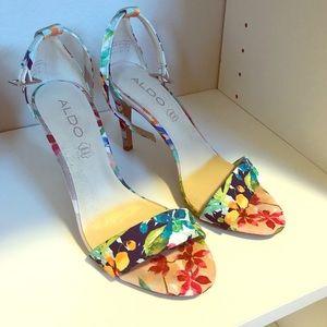 Aldo floral heels